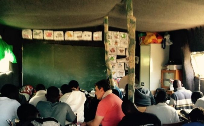 Calais Refugees School  Winter Appeal