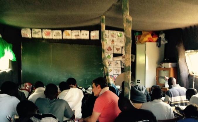 Calais Refugees School  Winter Appeal