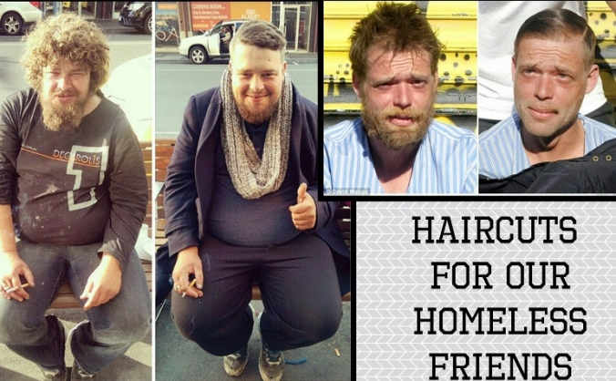 Homeless Haircuts