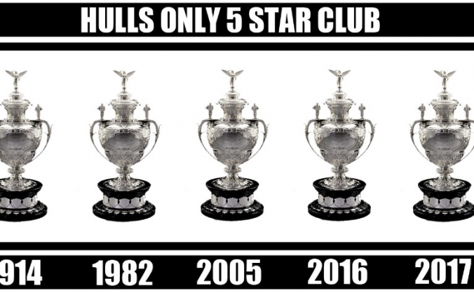 Hull FC Challenge Cup Winners 5* Flag