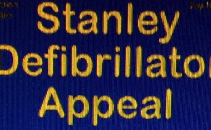 Stanley Defibrillator Appeal