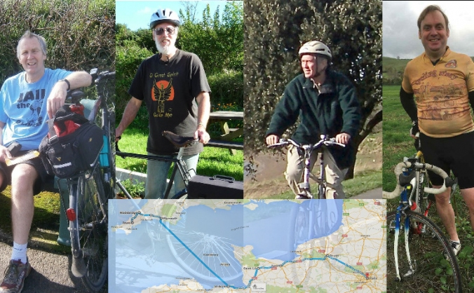 Pedal Power from Cornwall to Paris COP21