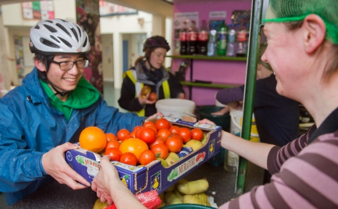 Fighting hunger and loneliness in Marylebone