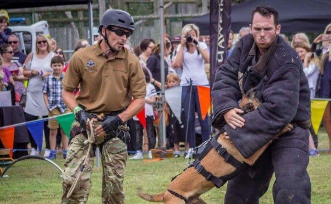Train and Donate an Anti Poaching Unit Dog