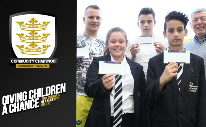Hull FC Cobus Communications Community Champions