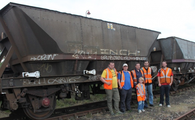 Preserving British Rail Engineering railway wagons