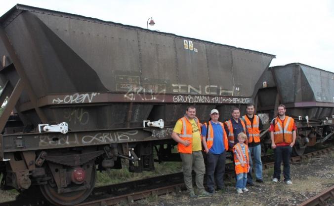 Preserving British Rail Engineering railway wagons