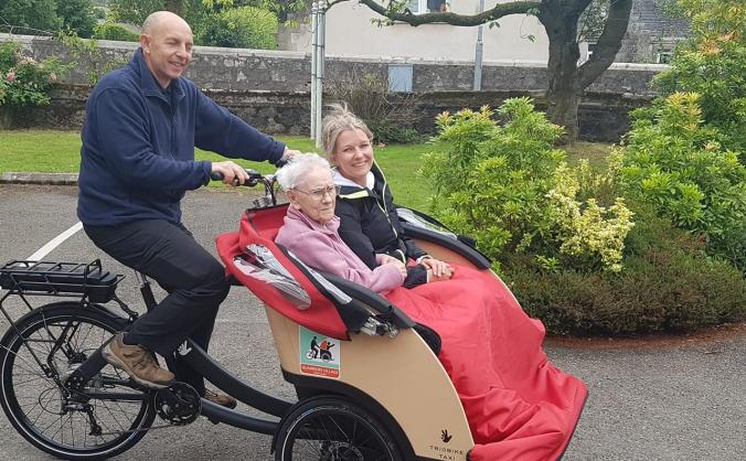 Cycling Without Age - Quarriers Village
