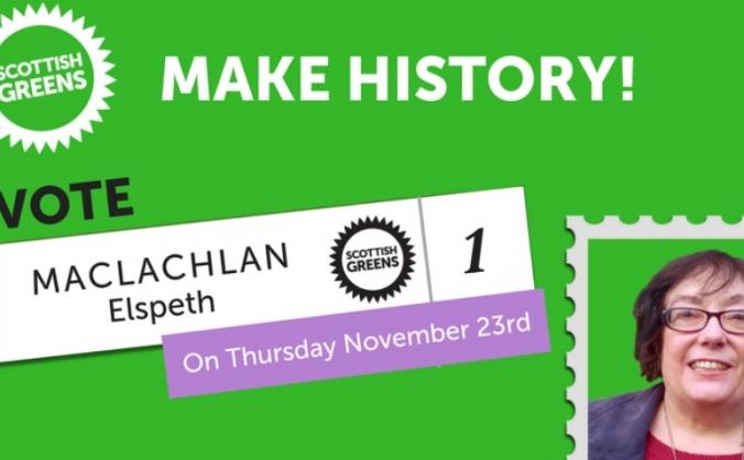 Make history! Elect a Green Councillor for Perth