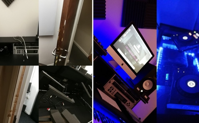 Help rebuild Subwoofah Studio after a burglary