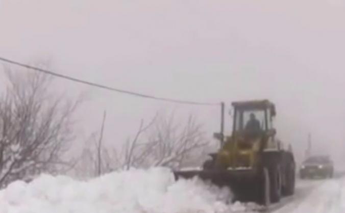 Snow storm victims