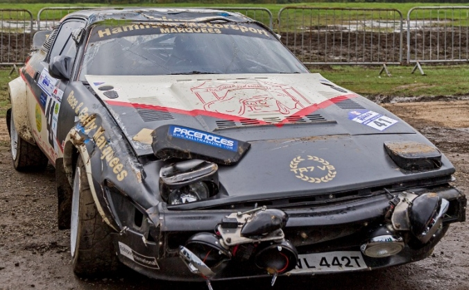 Help us return a rally Triumph TR7 V8 to action