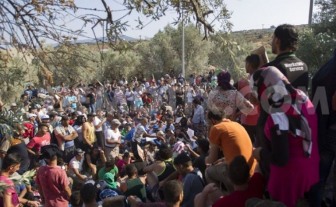 Trying to save lives in lesvos