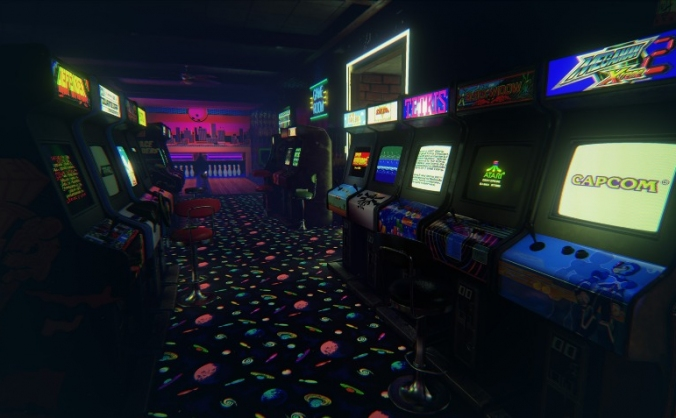 North Devon - Retrocade Cafe