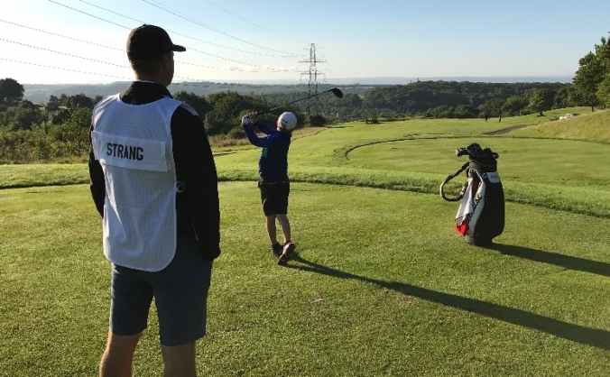 Oliver Strang Road to the Masters