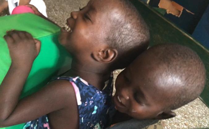 Raising money for St Joseph's Orphanage, Jirapa,