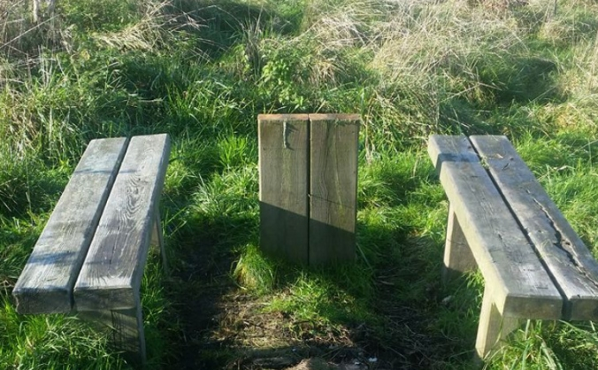 Kings Farm Wood Bench (Wilts Wildlife Trust)