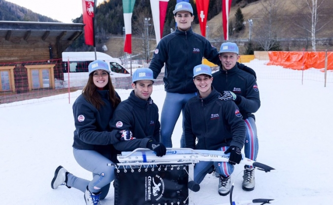 GBR Natural Luge Team