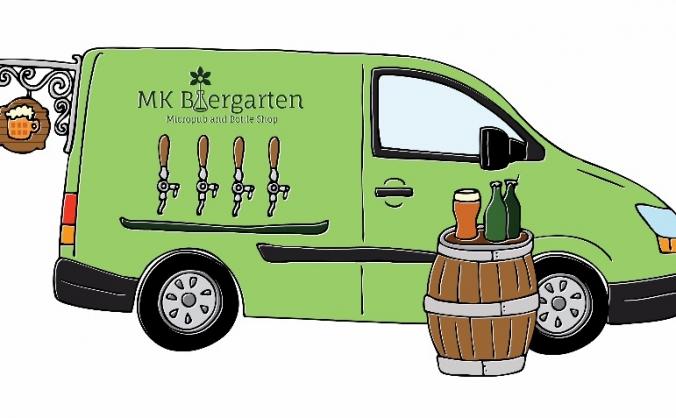 MK Biergarten Beer Van