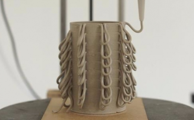 3d Print to Explore Region Clay for Thesis Project
