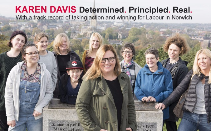 Karen Davis for Norwich North