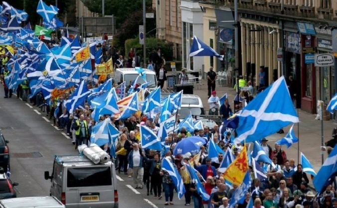 March & Rally for Independence- Glasgow