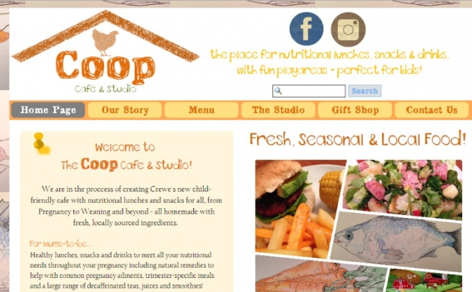 Healthy Option Kid's Cafe for Crewe!