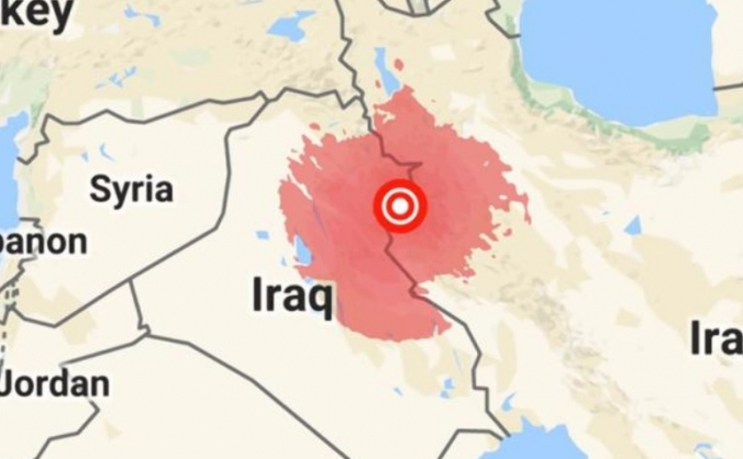Iran-Iraq earthquake