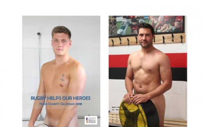 Rugby Helps Our Heroes Nude Charity Calendar 2018