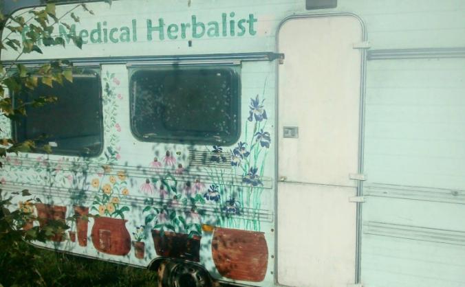 Get the Herbal Caravan to KM8 Anti-fracking Camp
