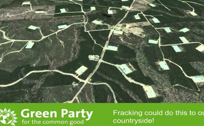 Greens Fight Fracking  - CWAC Green Party