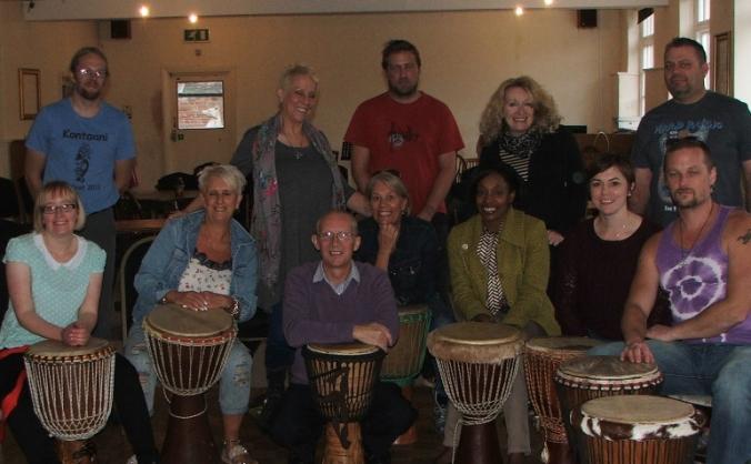 Leek Afrique Community Drummers