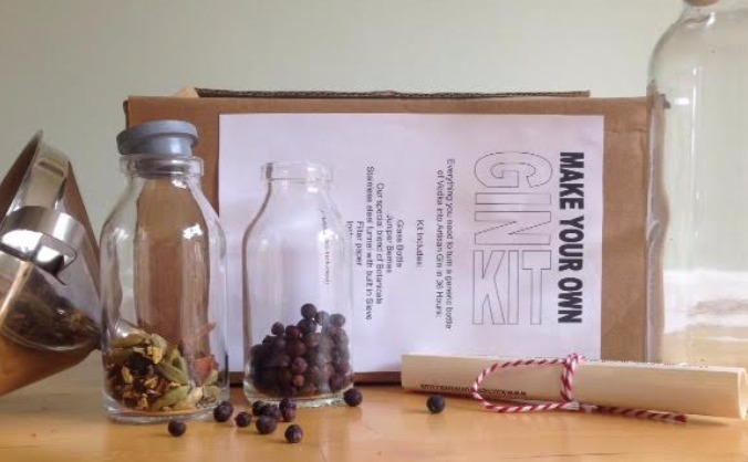 Make Your Own Gin kits