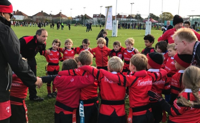 London Welsh Under 8s Tournament Shelter