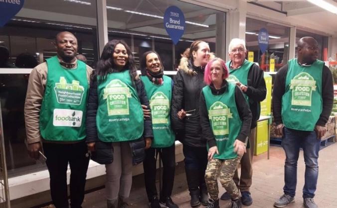 Rainham Foodbank Sewing Project