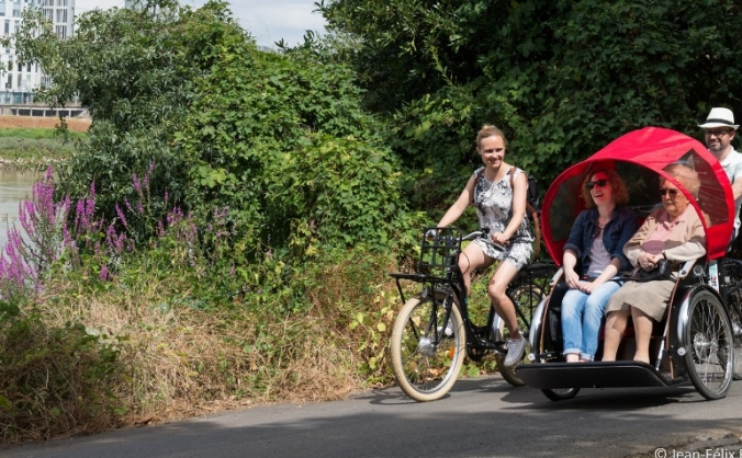 Cycling Without Age - Stockton on Tees Chapter