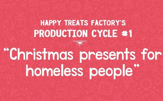 Christmas presents for homeless people