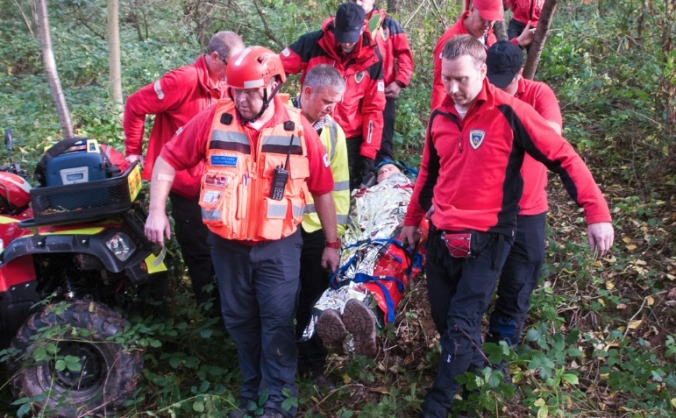 Herefordshire Rescue Unit - Mobile Trailer