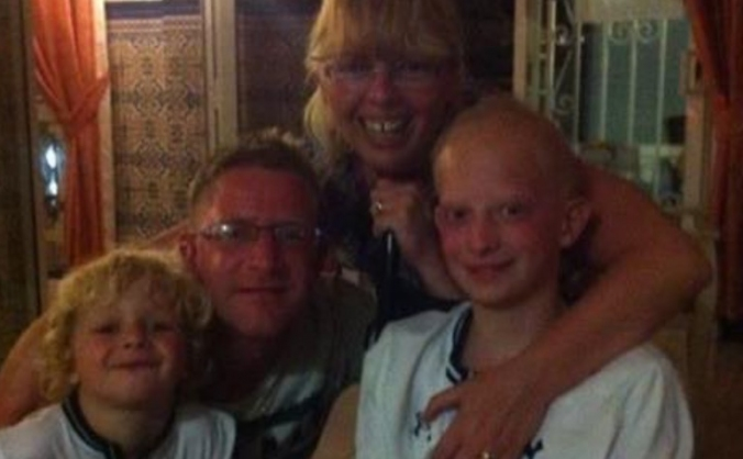 Raising money for a special family