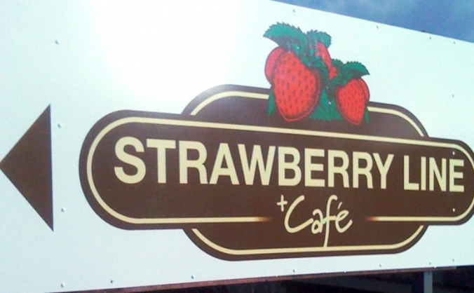 Strawberry Line Cafe - Support