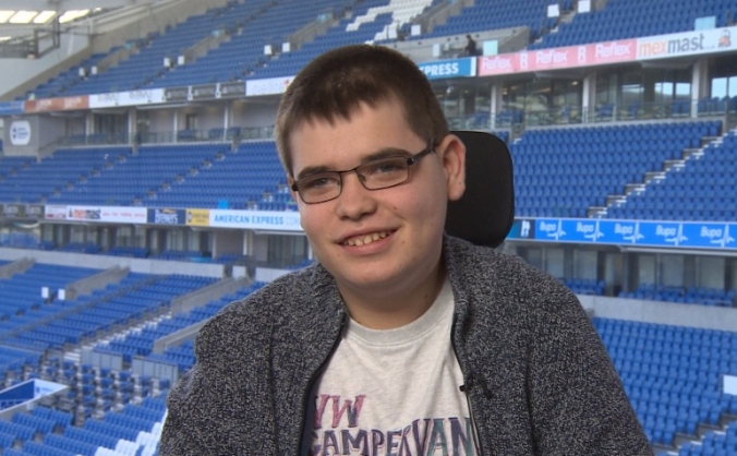 A powerchair for George