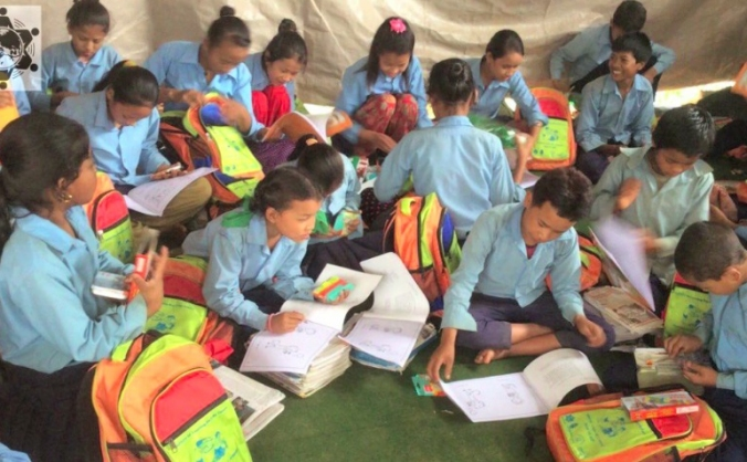 Schoolbags for Life - Help Children in Nepal