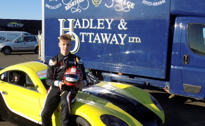 Young Norfolk Driver Seeks Place on The Grid