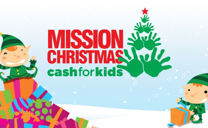Cash for Kids Mission Christmas North East