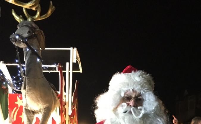 Santa's new suit & sleigh revamp