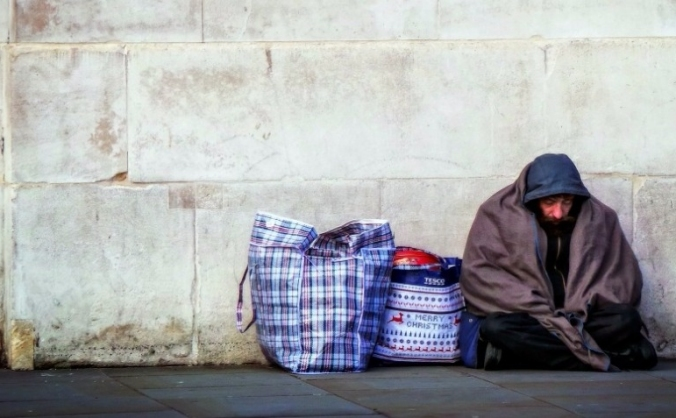 Helping the homeless during Christmas
