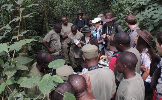 Orchid work with Rwandan girls from FAWE school