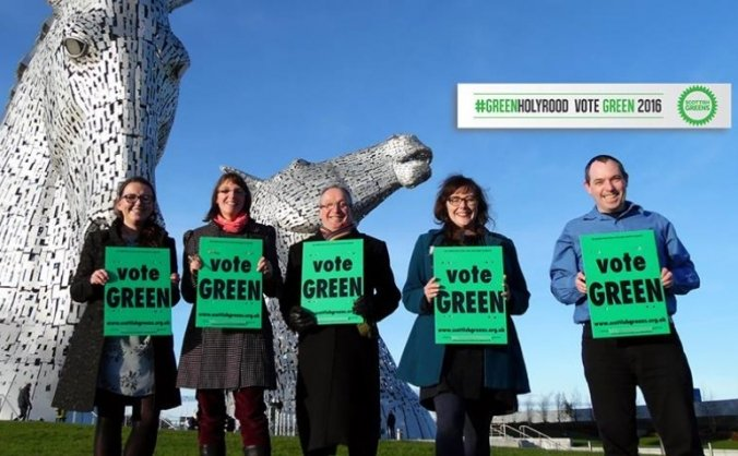Vote Green 2016 - Central Scotland
