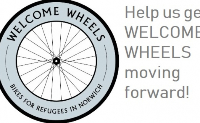 Welcome Wheels: bikes for refugees in Norwich