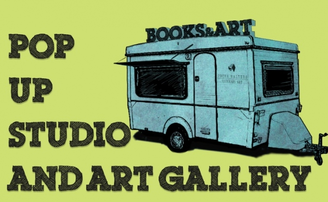 Pop-Up Artist Studio/Gallery - Literary Inspired